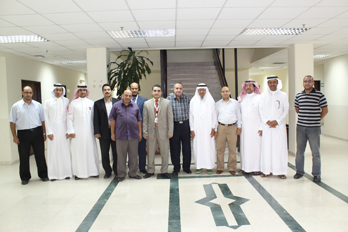 the first a training course of the (Blackboard) for faculty members at King Abdulaziz University